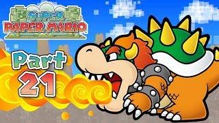 Super Paper Mario: Part 21 - Downtown of Crag!