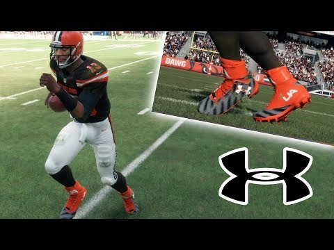 DEVIN WADE SIGNS SHOE DEAL WITH UNDER ARMOUR! Madden NFL 18 Player Career
