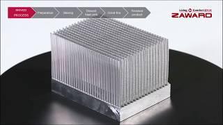 Skived (skiving) heat sink manufacturing process | Scheiben schälen-Prozess切鰭片散熱片製程