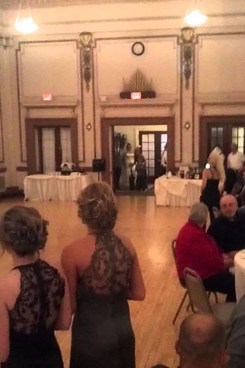 Best Wedding Reception Entrance Ever Youtube