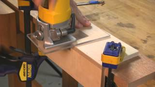 Router Jigs Make Mortised Locks Easy
