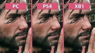 The Evil Within 2 – PC vs. PS4 vs. Xbox One Graphics Comparison