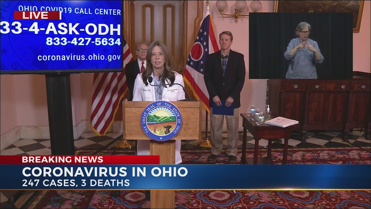 """Allen Co. Public Health talks about Governor DeWine's """"Stay at ..."""