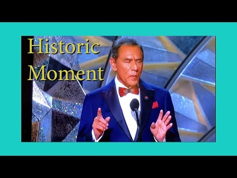 The Oscar moment that changed Native American History