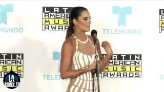 Gaby Espino en la sala de Prensa de Los Latin American Music Awards 2015