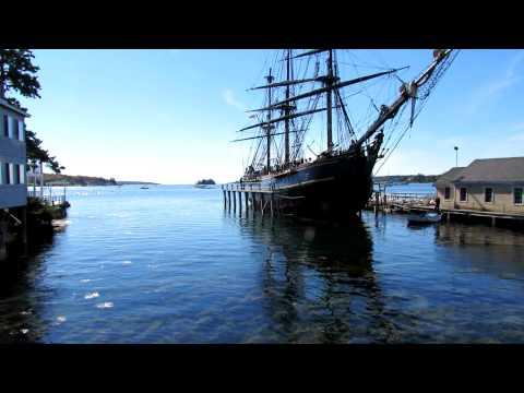 Launch of HMS Bounty - Boothbay Harbor Shipyard - October 2012
