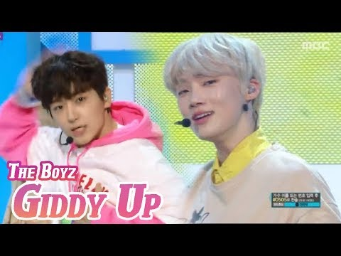 [Comeback Stage] THE BOYZ - Giddy Up, 더보이즈 - Giddy Up Show Music Core 20180407