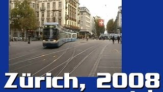 Trams in Zürich, part 1 / Zürich villamosai, 1. rész