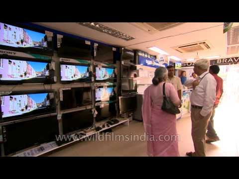 Middle class retail story in India: LCD television industry