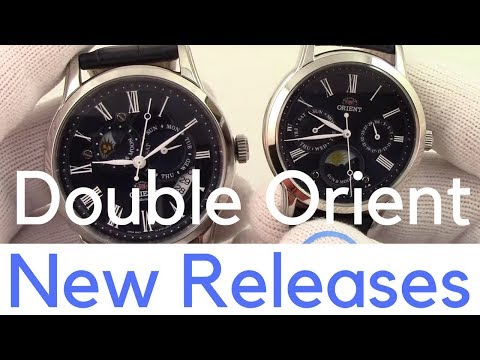 Orient Watch 2018 New Releases - The Latest Sun and Moon & Hand Winding with Hacking Esteem