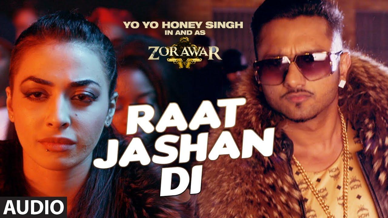 raat jashan full song audio zorawar yo yo honey singh jasmine sandlas baani