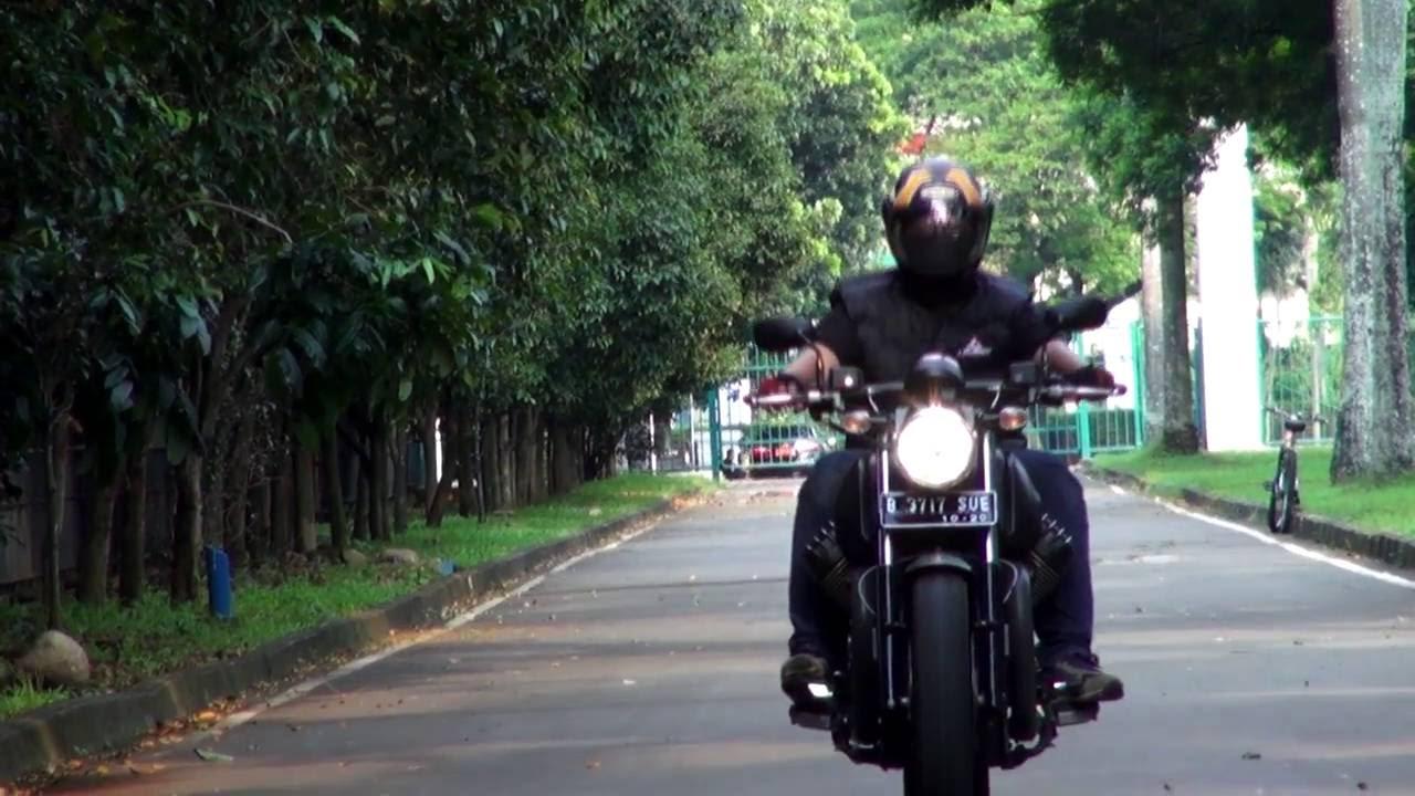 test ride moto guzzi audace indonesia bukan motovlog - youtube