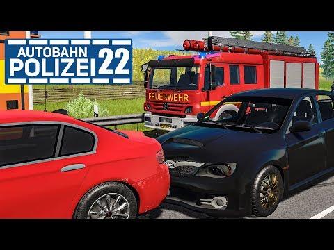 MASSENKARAMBOLAGE Auf Der Autobahn! AUTOBAHNPOLIZEI-SIMULATOR 2 #22 | Police Simulator 2 Deutsch