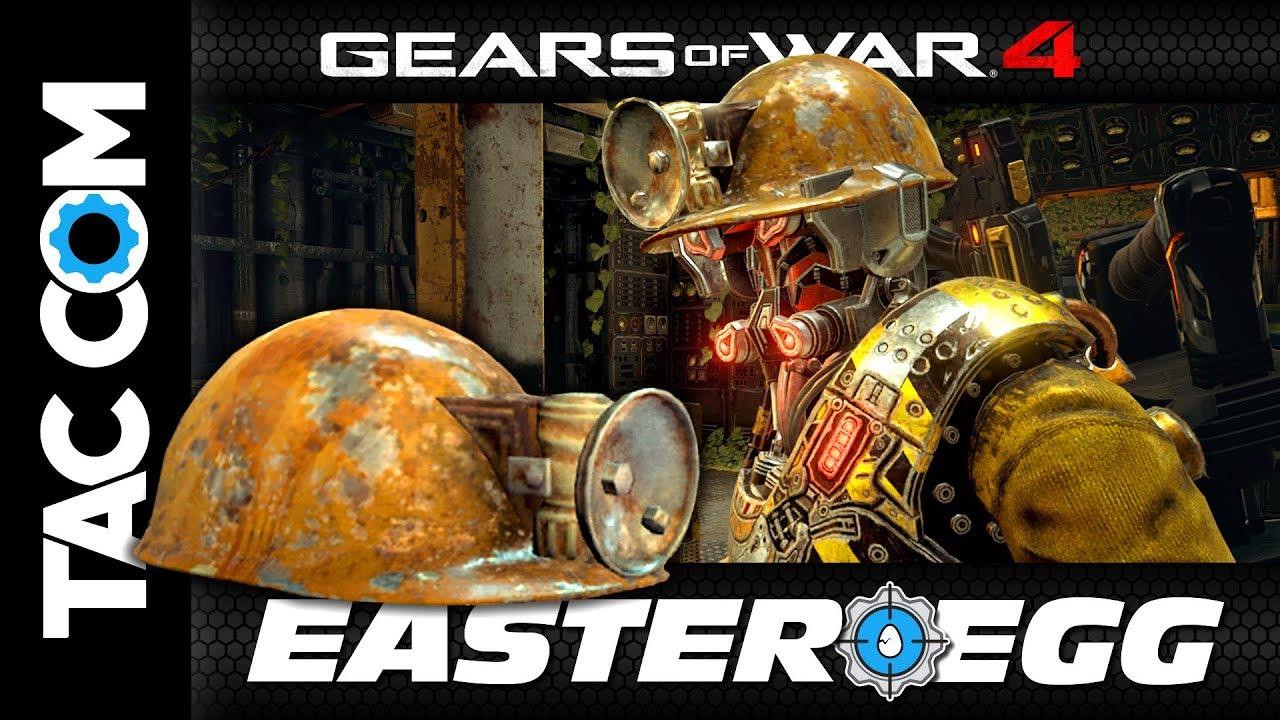 Gears of War 4: Easter Egg Tutorial - Lift Hard Hat