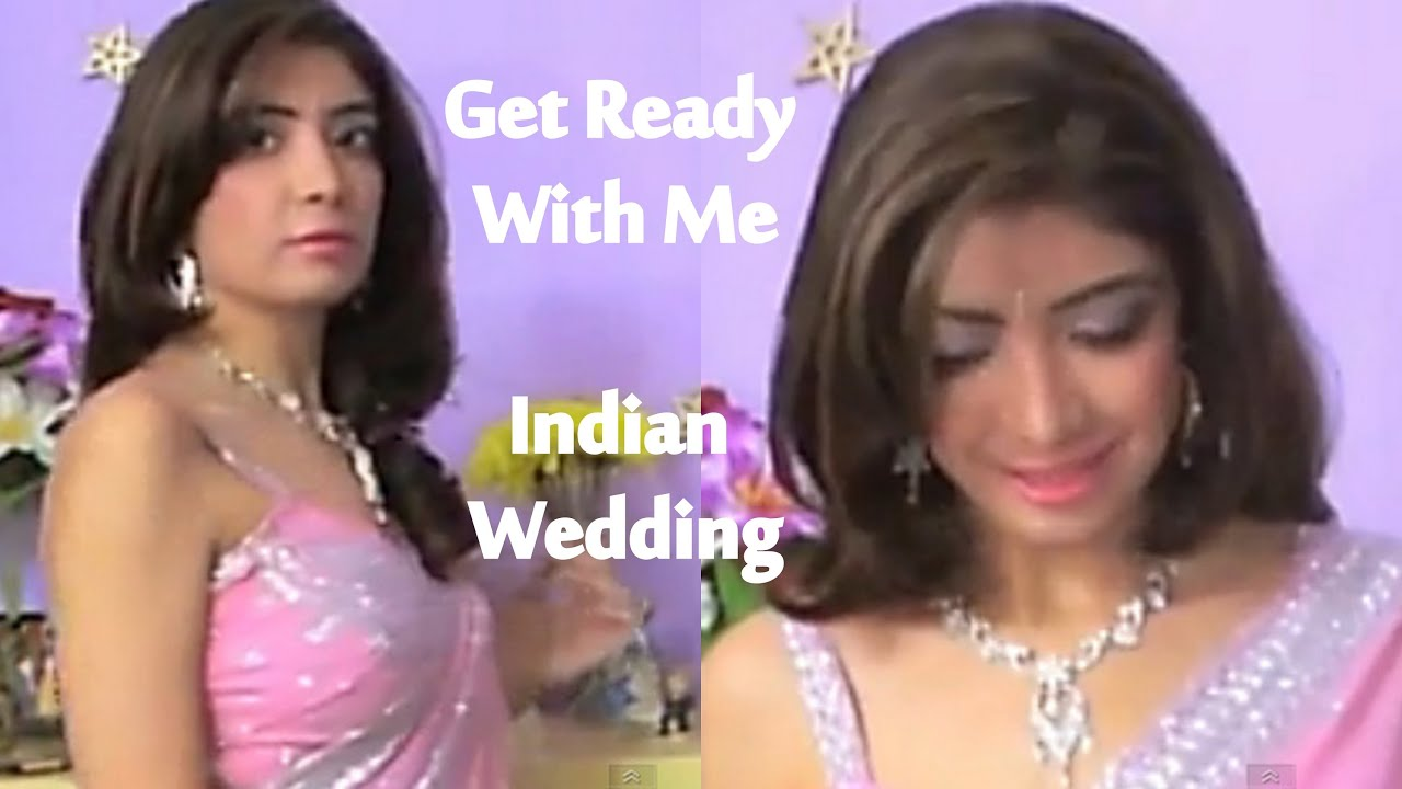 Winter Wedding Guest Makeup : Get Ready With Me - Indian Wedding Guest GRWM Indian ...