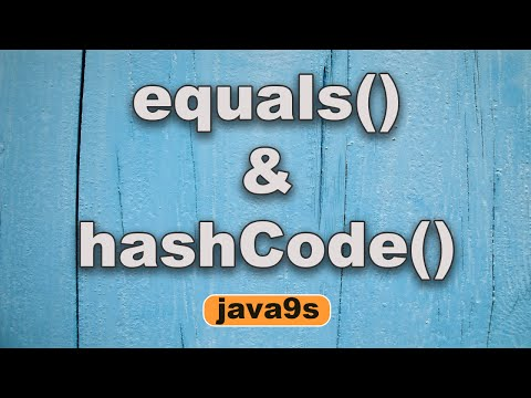 Equals and hashcode in Java Part 1 - How they impact Collections - IMPORTANT | Java9s
