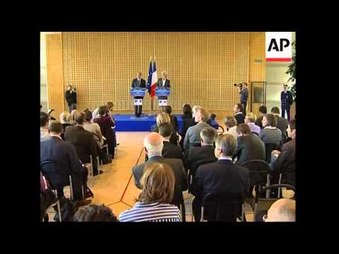 French Finance minister outlines financial rescue plan
