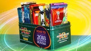 5 verschiedene Booster auspacken! WM 2018 Edition