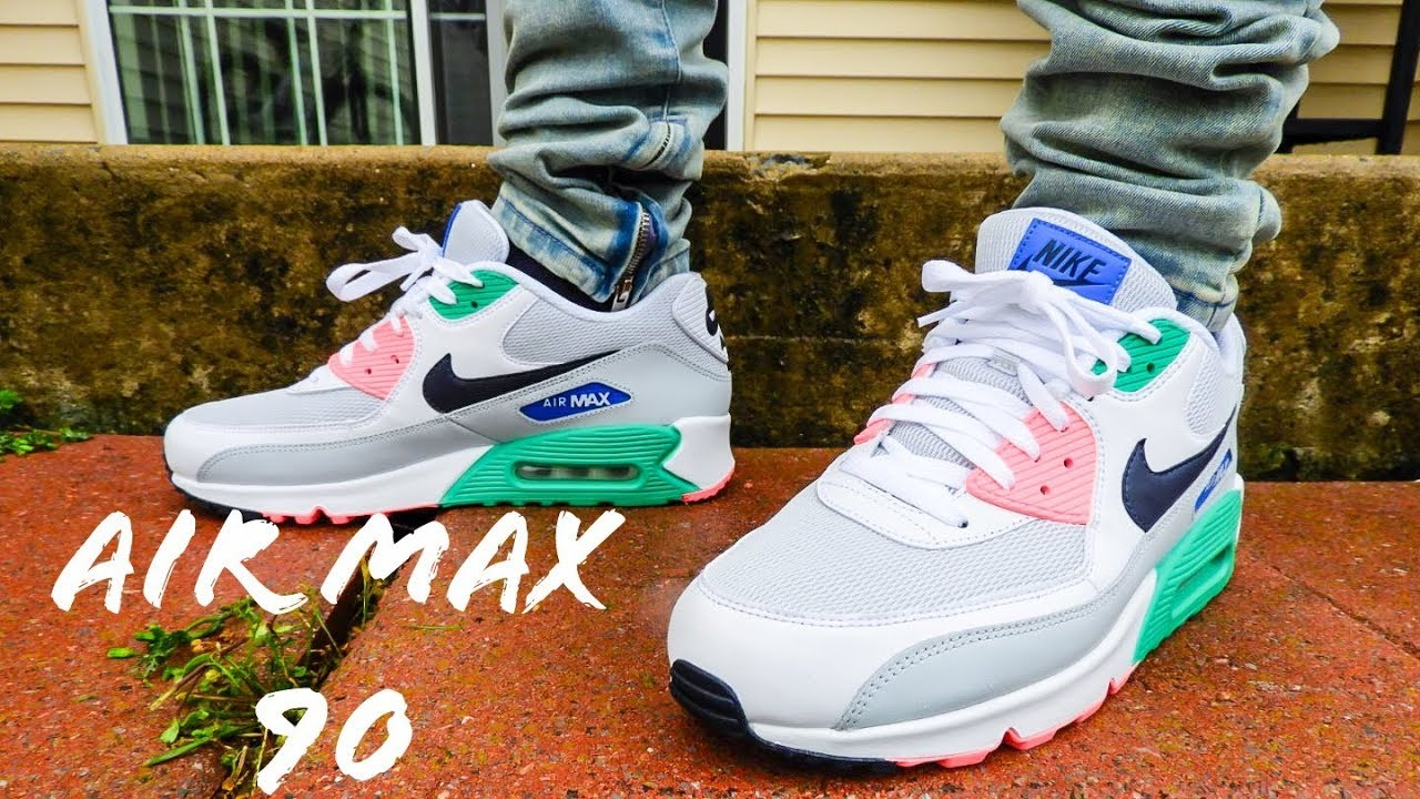 Nike Air Max 90 South Beach On Feet Review!!!