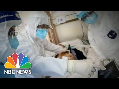 Coronavirus: Inside Hard-Hit Utah Hospital | NBC Nightly News