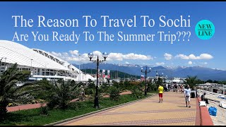 The Reason To Travel To Sochi City This Summer!!!