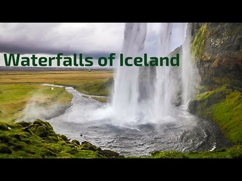 Iceland Waterfalls in video