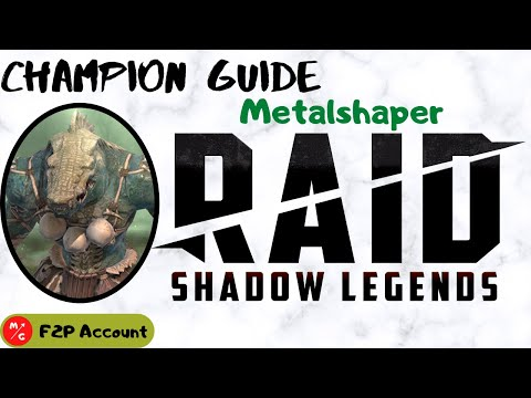 [F2P] | Metalshaper Raid Shadow Legends Champion Guide | Lizardman Rare Support