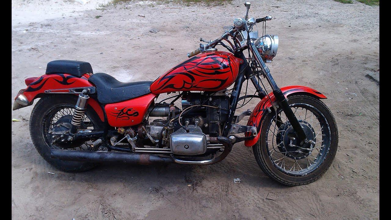 Установка стартера на мотоцикл урал своими руками: видео