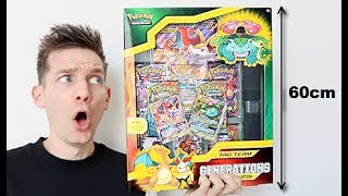 *HUGE* Pokemon Charizard Generations Premium Collection Box