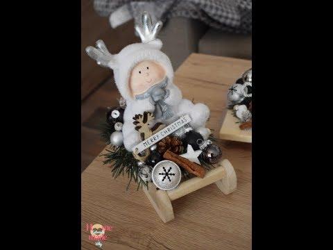 693ccb682 vianočná dekorácia: sane - YouTube