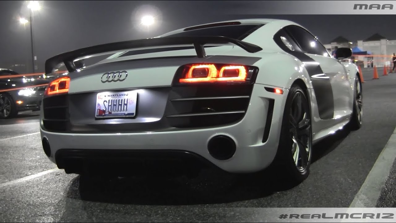 Audi R8 Gt Hunt Valley Cars And Coffee Youtube