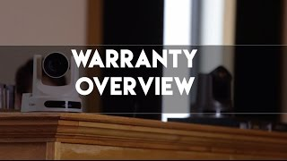 PTZOptics 3 Year Warranty