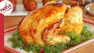 Misafir Soframın Vazgeçilmezi 👌🏻😋 Fırında Bütün Tavuk