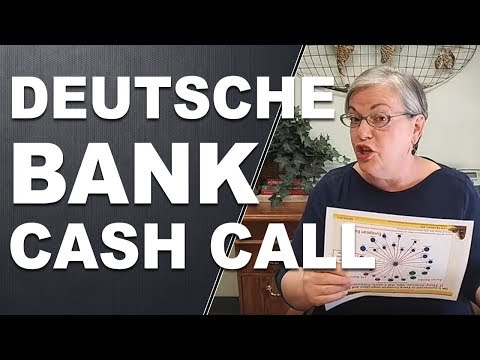 Deutsche Bank Cash Call - Will Deutsche Bank Fail?!?