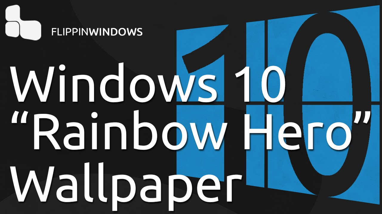 Download Windows 10 Hero Wallpaper In Any Color Youtube