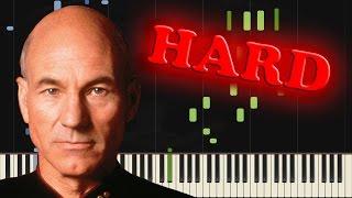 STAR TREK - THE NEXT GENERATION - Piano Tutorial