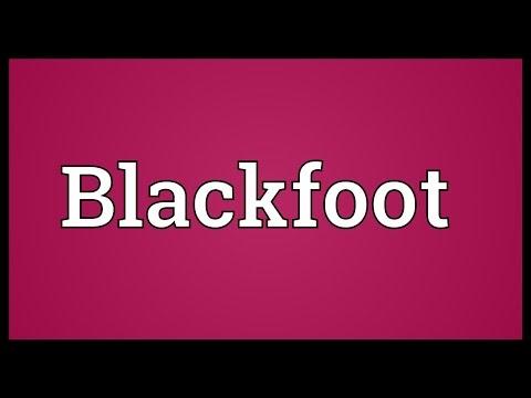Blackfoot Meaning
