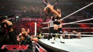 Tons of Funk vs. The Usos vs. Drew McIntyre & Jinder Mahal - Triple Threat No. 1 Contenders Tag Team