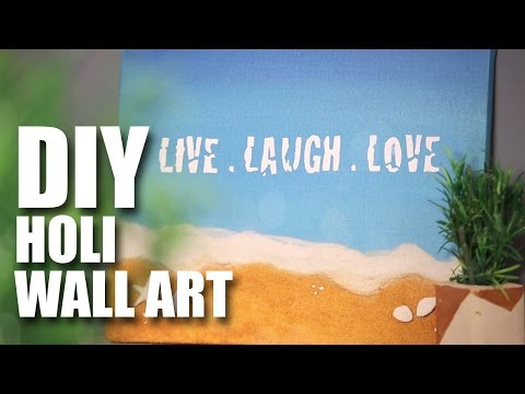 Holi Wall Art