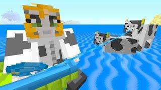 Minecraft Xbox - Quest To Kill The Elder Guardian (190)