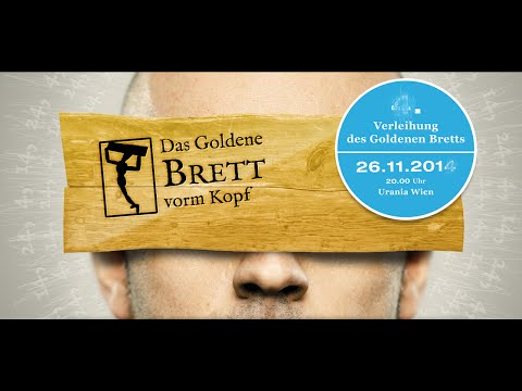 Verleihung des Godenen Bretts 2014 LIVE!!! (26.11.2014 – 20 Uhr)