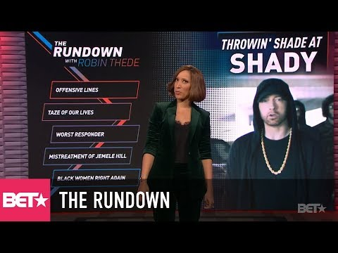 """""""Marshall Luther King"""" – Eminem's Cypher Causes Conversation   The Rundown With Robin Thede"""