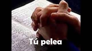 Pelea (Karaoke cristiano) HD Patricio Mena