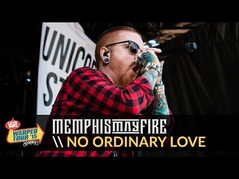 Memphis May Fire - No Ordinary Love (Live 2015 Vans Warped Tour)