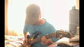 Electric Guitar Canon Rock in D Major