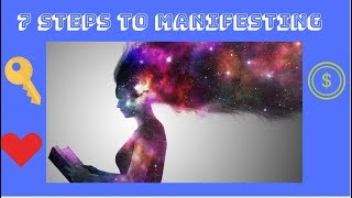 7 steps to manifesting-the law of attraction