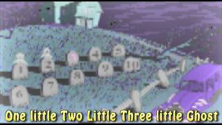 HD - Ten Little Ghost kids song with Lyrics