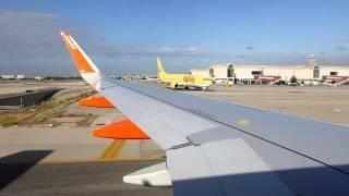 Easyjet - Landing at Palma, Majorca (PMI)