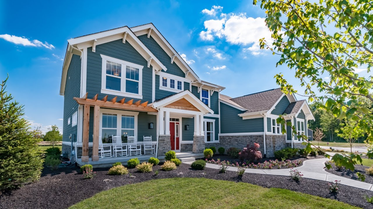 The Stanton Floorplan by Fischer Homes Model Home in