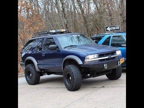 2000 chevy blazer mud tires